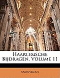 Haarlemsche Bijdragen, Volume 11