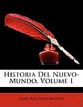 Historia del Nuevo-Mundo, Volume 1