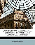 Coniecturae Caesarianae: Seorsum Expressae Ex Lexico Caesariano