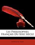 Les Philosophes Franais Du Xixe Sicle