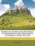 Sammlung Klinischer Vortrge in Verbindung Mit Deutschen Klinikern, Issues 331-360