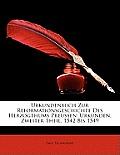 Urkundenbuch Zur Reformationsgeschichte Des Herzogthums Preussen: Urkunden, Zweiter Theil, 1542 Bis 1549