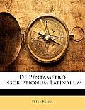 de Pentametro Inscriptionum Latinarum