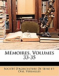 Mmoires, Volumes 33-35
