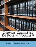 Oeuvres Compltes de Rollin, Volume 9