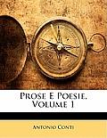 Prose E Poesie, Volume 1