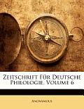 Zeitschrift Fr Deutsche Philologie, Volume 6
