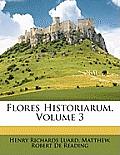 Flores Historiarum, Volume 3