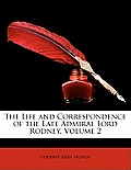 The Life and Correspondence of the Late Admiral Lord Rodney, Volume 2