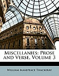 Miscellanies: Prose and Verse, Volume 3