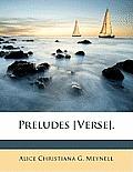 Preludes [Verse].