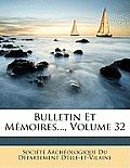 Bulletin Et Mmoires..., Volume 32
