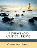 Reviews and Critical Essays