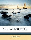 Annual Register ...