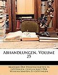 Abhandlungen, Volume 25