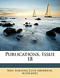 Publications, Issue 18