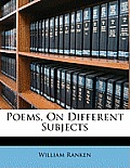 Poems, on Different Subjects