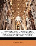 Patrologi] Cursus Completus [Series Gr]ca]: Omnium SS. Patrum, Doctorum, Scriptorumque Ecclasiasticorum Sive Latinorum Sive Gr]corum ..., Volume 17
