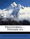 Proceedings ..., Volumes 4-6
