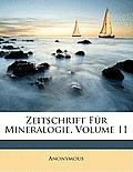 Zeitschrift Fr Mineralogie, Volume 11
