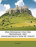 Der Winsbeke Und Die Winsbekin. Mit Anmerkungen Von M. Haupt