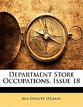Department Store Occupations, Issue 18