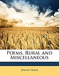 Poems, Rural and Miscellaneous