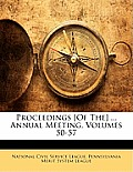Proceedings [Of The] ... Annual Meeting, Volumes 50-57