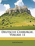 Deutsche Chirurgie, Volume 11