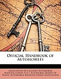 Official Handbook of Automobiles