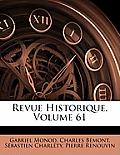 Revue Historique, Volume 61