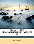 Annalen Der Staatsarzneikunde, Volume 2