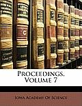 Proceedings, Volume 7