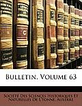 Bulletin, Volume 63