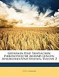 Gedanken Und Thatsachen: Philosophische Abhand-Lungen, Aphorismen Und Studien, Volume 2