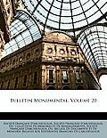 Bulletin Monumental, Volume 20