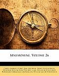 Mnemosyne, Volume 26