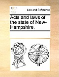 Acts and Laws of the State of New-Hampshire.