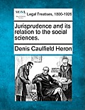 Jurisprudence and Its Relation to the Social Sciences.