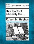 Handbook of Admiralty Law.