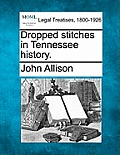 Dropped Stitches In Tennessee History. by John Allison