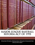 Major League Baseball Reform Act of 1995