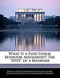 What Is a Functional Behavior Assessment? the Why of a Behavior