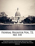 Federal Register Vol. 72, No. 141