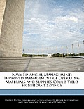Navy Financial Management: Improved Management of Operating Materials and Supplies Could Yield Significant Savings