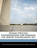 Budget Process: Considerations for Updating the Budget Enforcement ACT