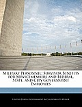 Military Personnel: Survivor Benefits for Servicemembers and Federal, State, and City Government Employees