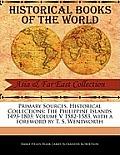 The Philippine Islands 1493-1803; Volume V 1582-1583