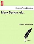 Mary Barton, Etc.