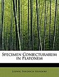 Specimen Coniecturarum in Platonem